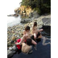 鈴香音色とCOCO@の混浴露天温泉巡り旅