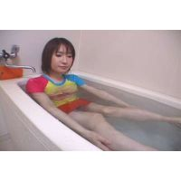 服着て入浴