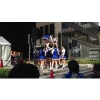 激カワチアリーダー!エロいお尻の動き2012