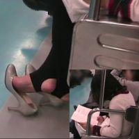 【HD動画】トレンカ・パンプスの女子大生