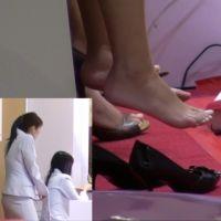 【HD動画】ショッピングモールで見た靴脱ぎ 10シーン