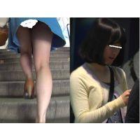 ふんわりとしたお嬢様のスカートの中を拝見(フルHD)