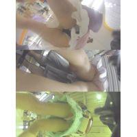 生脚限定!真夏の私服JK3人part3(Full HD)