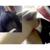 童顔JKの純白パンティを真下から凝視(Full HD)