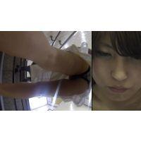 階段80段食い込みっぱなしの美人で美脚な姉さん(Full HD)