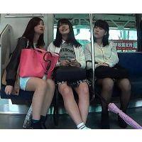 三人とも可愛いからパンツたっぷり撮ったった(Full HD)