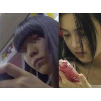 アイドル級美少女逆さ撮り2連発(Full HD)