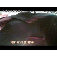 【逆さ撮り】ハンパなく可愛いショップ店員のミニスカートの中、黒タイ越しにエロパンティーが丸見え!<iPhoneスマホ対応>