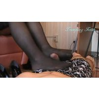 Blackhighheel,stocking trampling