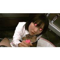 【HD】現役JKの手コキで、黒タイツにぶっかけ03