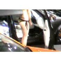 水着を着たコンパニオンとウザいジジイ 東京オートサロン2012【動画】イベント編 810