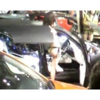 水着を着たコンパニオンとウザいジジイ 東京オートサロン2012【動画】イベント編 809
