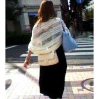 駅から家に帰る私服姿の生意気そうな20歳前後の女性【ストーキング動画】街撮り編 313