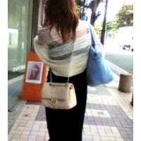 駅から家に帰る私服姿の生意気そうな20歳前後の女性【ストーキング動画】街撮り編 315