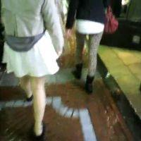 私服姿の女の子2人組【ストーキング動画】街撮り編 320