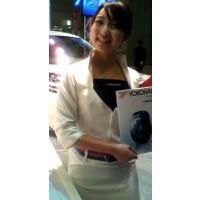 ヨコハマタイヤブースの激カワコンパニオン東京オートサロン2012【動画】イベント編 807