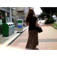 私服姿のお姉さん【ストーキング動画】街撮り編 322