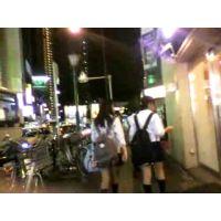 部活が終わって学校帰りの女の子【ストーキング動画】街撮り編 317