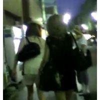 これから出勤?夜のお仕事をしてそうな女の子2人組【ストーキング動画】街撮り編 113