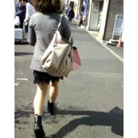 ミニスカ生脚私服姿の女の子【ストーキング動画】街撮り編 116