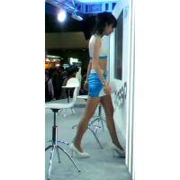 グラスピットブースステージ上のコンパニオン東京オートサロン2012【動画】イベント編 808〜810セット販売