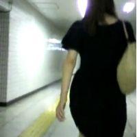 私服姿のお姉さん【ストーキング動画】街撮り編 114と317〜319セット販売