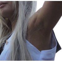コスプレ2016冬ワキ見せ上半身をアップでブラ紐【動画】イベント編 2905