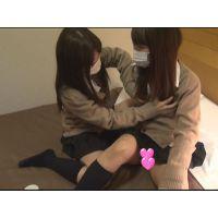 【個撮】たまごちゃん2人組ホテルでおしゃべり強烈パンチラ映像(2)