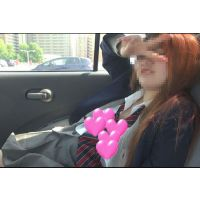 【個撮】赤毛の訛ってるヤリすぎたまごちゃん!車の中でねばって〜生ハメ映像(1)
