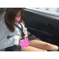 【個撮】爆乳たまごちゃん車内ちょっと!意外に真面目すぎて全然やらせてくれない!パンチラ、胸チラ映像