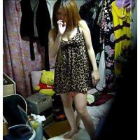 【ヤリ友×あいなたん】歌舞伎町キャバ★ナンバー3、、、着替えと脱衣所( *´艸`)