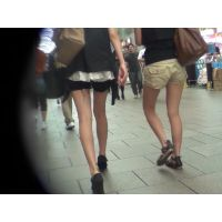 街撮り動画331(私服JK・超美脚・ショーパン)