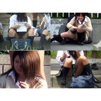 制服女子!望遠パンチラ Vol.3
