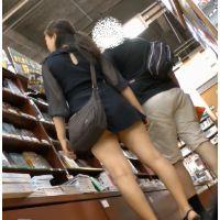 ★街撮り80&89★ HD動画 むちむち足のミニスカお姉さんNO.1&2Set