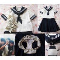 ☆スマホOK☆【JK1〇歳】友人の妹が留守の間に制服と下着で…