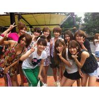 【女子大生�】女だらけの夏休みベロベロBBQ遊び