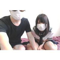 【FC2ライブチャット02】帽子男と黒髪清楚美少女リサ(JK?)がセックス配信【顔出し】