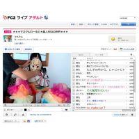 【FC2ライブの新星マスクん】元地下アイドルと無法地帯配信