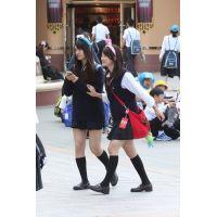 制服女子校生達の放課後風景 File086