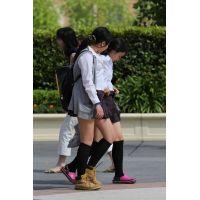 制服女子校生達の放課後風景 File074