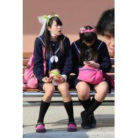 制服女子校生達の放課後風景 File048