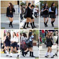 制服女子校生達の放課後風景 File014