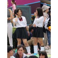 制服女子校生達の放課後風景 File100