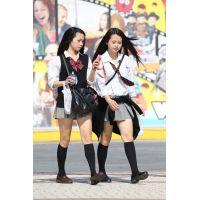 制服女子校生達の放課後風景 File053
