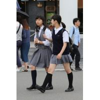 制服女子校生達の放課後風景 File075