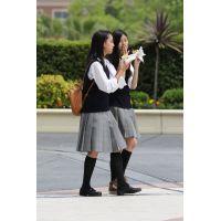 制服女子校生達の放課後風景 File094