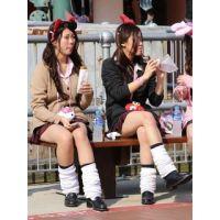 制服女子校生達の放課後風景 File046