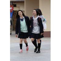 制服女子校生達の放課後風景 File091