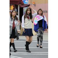 制服女子校生達の放課後風景 File080