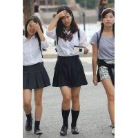 制服女子校生達の放課後風景 File107